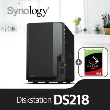 [에이블] DS218[4TB]/시게이트 아이언울프(4TBx1ea) NAS