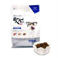 맛선 강아지 소프트 사료 1.2kg (작은알갱이 전연령)_29D691