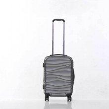 미치코런던 웨이브 그레이 20 확장형 캐리어 여행가방