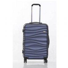 미치코런던 웨이브 네이비 24 확장형 캐리어 여행가방