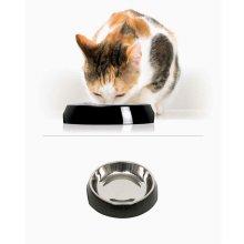 하겐 캣잇 2.0 고양이 싱글 스테인리스 식기 블랙_293C97