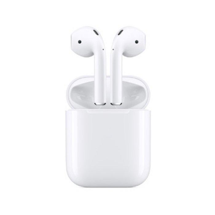 Apple [수량 2차][4월말~5월초 발송] 에어팟 2세대 Airpods 충전 케이스 모델 [유선충전] [애플정품] [하이마트]