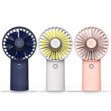 핸디 미니 휴대용 선풍기 MS-1 4000mAh 대용량_핑크