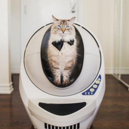 [히든] 오픈에어 리터로봇Ⅲ 고양이 자동 화장실