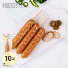 닭가슴살 소시지 후랑크 할라피노 70g 10팩