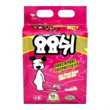강아지 위생용품 요요쉬 배변 패드 소형 10매 40x48_0CC17F