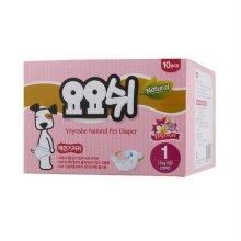 강아지 위생용품 기저귀 애견기저귀 1단계 10매 SS_0CC1B3