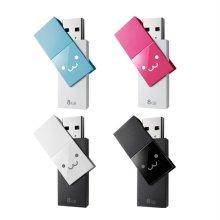 스윙타입 USB 3.0 메모리 8G 블루