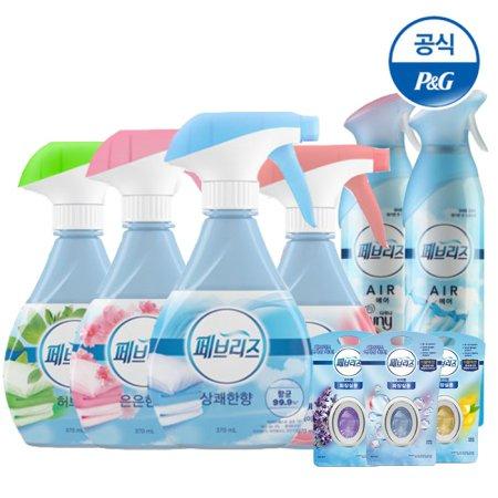 (무료배송) 매일 10초세탁 탈취엔 페브리즈 섬유탈취제/방향제