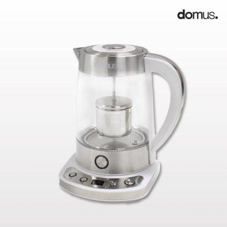 도무스 시아 전기 유리 보온 티포트 1.7L