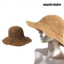 마리끌레르 뜨개 지사 벙거지 모자 브라운