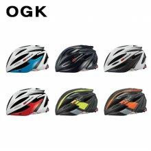 OGK 2019 완벽한 핏 자전거 헬멧 알페 _블랙 XS