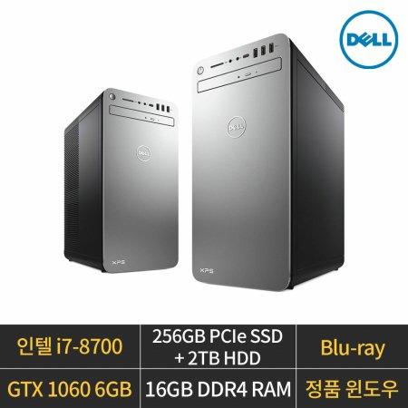 [리퍼] XPS 8930/i7-8700/GTX1060/16GB/256GB/2TB/W10H