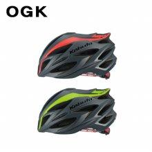 OGK 스타일리쉬 헬멧 스테어 Steair _라인맷그린 SM