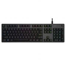 [쿠션형 손목받침대 증정] G512 RGB 기계식 게이밍 키보드 [리니어축] [로지텍코리아정품]
