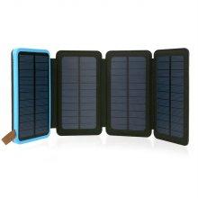 태양광충전 4패널 8000mAh 보조배터리 NEXT-8004FSC