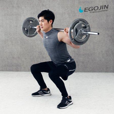 소봉세트 34kg 역기봉세트 해머원판 바벨
