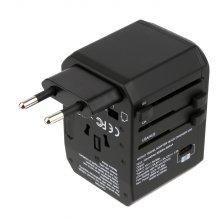 퀵차지 QC3.0 여행용 멀티플러그 USB충전 3포트 TYPEC지원 NEXT-007TC-PD