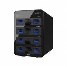 4베이 데이터 스토리지 USB3.0 e-SATA 지원 NEXT-706M6G