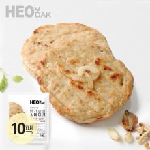 오븐에 구운 닭가슴살 스테이크 떡갈비맛 100g 10팩