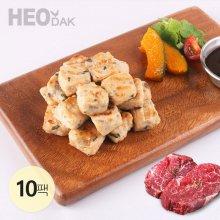 닭가슴살 큐브 불고기맛 100g 10팩