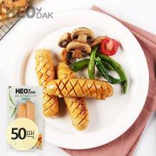 닭가슴살 소시지 매콤훈제맛 120g 50팩