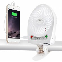 3단 초강풍 휴대용 충전식 미니 USB선풍기 NEXT-1412FAN