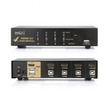 4포트 USB HDMI KVM 스위치 4K 60Hz 해상도 NEXT-7004KVM-4K