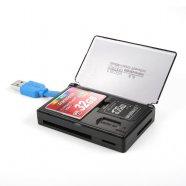 [무료배송] 메모리 수납형 USB3.0 멀티카드리더기 CF,SDHC NEXT-9708U3