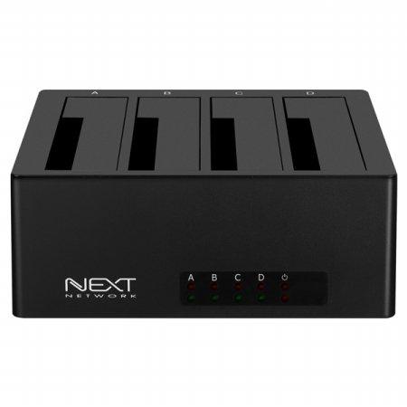 [무료배송] USB3.0 4베이 외장하드 도킹스테이션 NEXT-644DU3