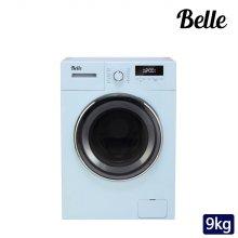 하이마트 설치! 벨 레트로 9kg 드럼세탁기 (블루) / SDD90AS