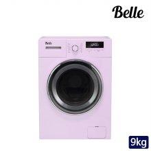 [경남/양산 한정] 하이마트 설치! 벨 레트로 9kg 드럼세탁기 (핑크) / SDD90AP