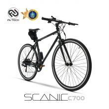 스카닉 C700 36V 5Ah 하이브리드 전기자전거
