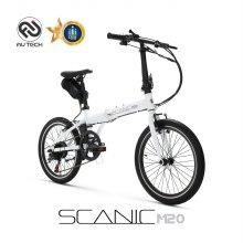 스카닉 M20 36V 전기자전거 화이트 (안전배송)