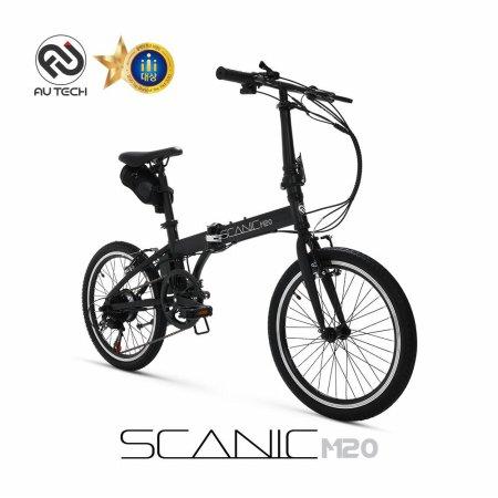 스카닉 M20 36V 5Ah 전기자전거 블랙