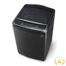 [*LPOINT 3만점*] T20BV 일반세탁기[20KG/인버터 DD모터/식스모션/터보샷/블랙스테인리스]