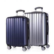 [캠브리지] 클랜드 여행가방 세트 확장형 (20+24) 실버