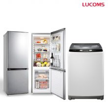 161L냉장고 + 10kg 통돌이세탁기 세트 / W100W01-SA + SAR161M1-G