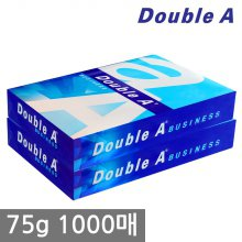 더블에이 A4 복사용지(A4용지) 75g 1000매(500매 2권)