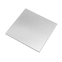 베르블럭 접착식 스테인레스 메탈타일[체크 실버](10cmX10cm)