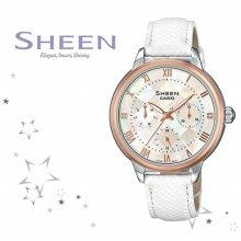 SHE-3057PGL-7A 여성 가죽 시계