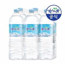 [공식판매점] 제주 한라수 2L x 6개