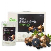 [굿베이스] 홍삼담은 흑마늘 후레쉬 80ml*10포