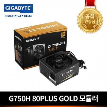 GIGABYTE G750H 80PLUS GOLD 모듈러