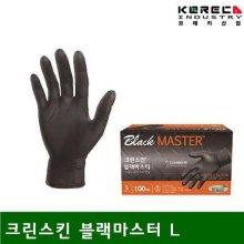 크린스킨 장갑 크린스킨 블랙마스터 L 1통-50조 (1통)_1FACBD
