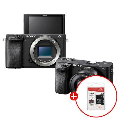 알파 A6400 미러리스 카메라[블랙][바디/바디+렌즈포함 선택]