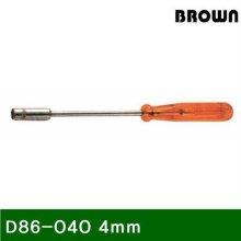 복스드라이버 D86040 4mm 125 (1EA)_644131