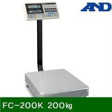 벤치형저울 FC-200K 200㎏ 50g (1EA)_369AE8
