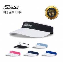 [타이틀리스트] 19 Women's Sundrop Visor 여성용 골프 바이저 선캡 TH9VWSDK-P12 화이트/블랙
