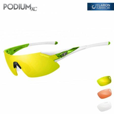 티포시 포디엄XC 화이트-그린(클라리온 옐로우+AC 레드+클리어(렌즈3개)) 1070106827